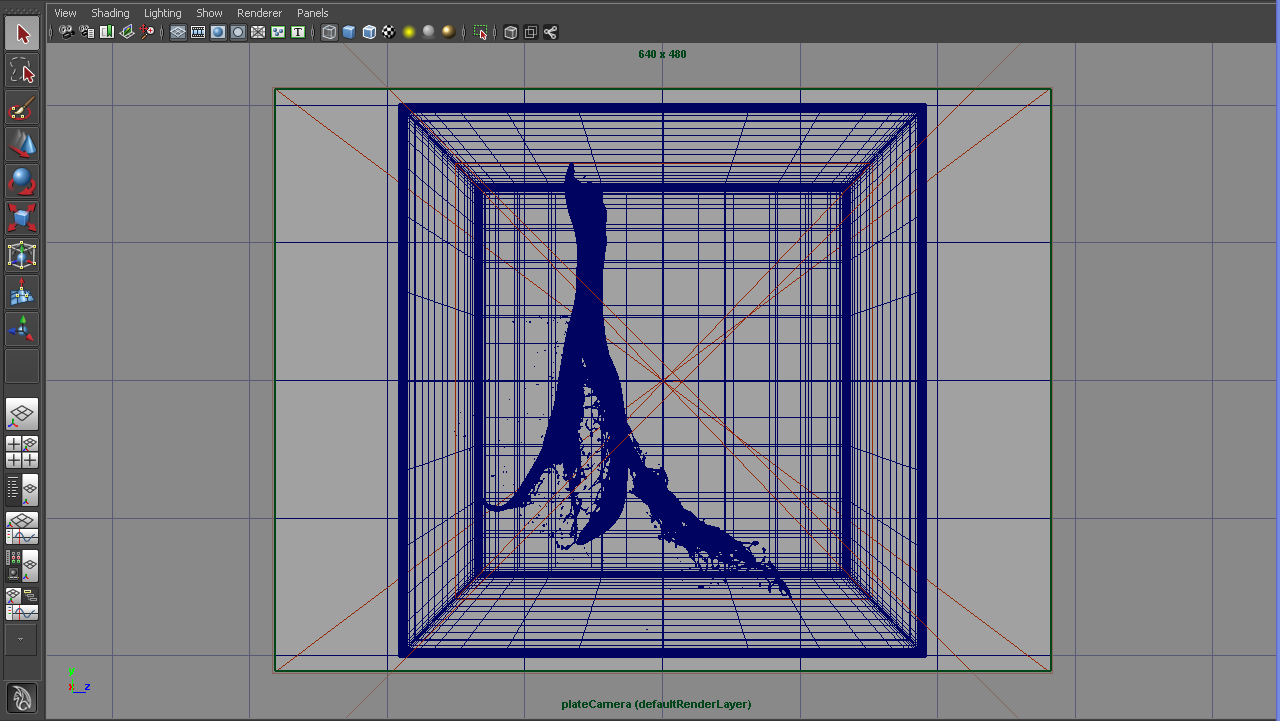 Maya screen grabs
