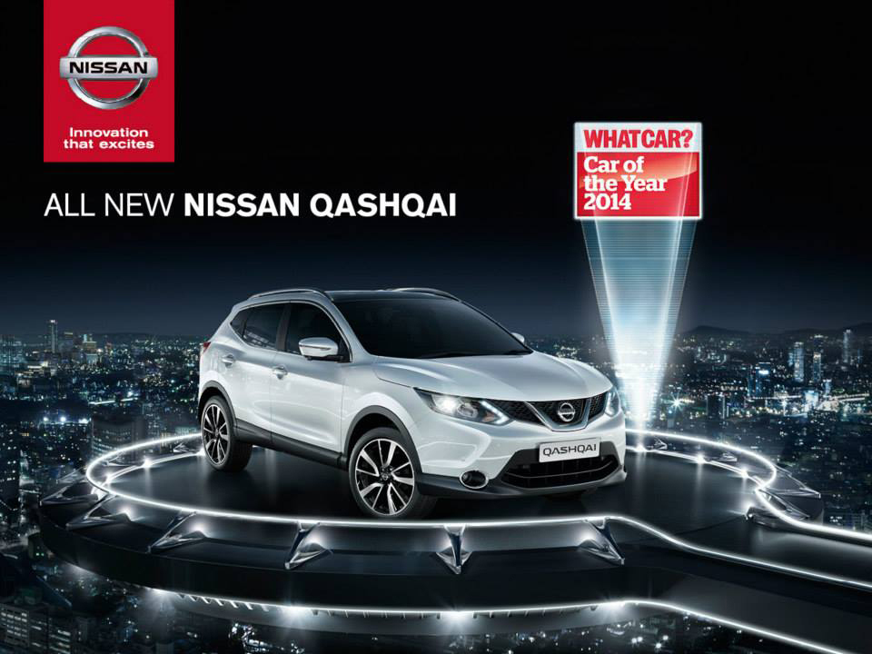 NISSAN car - image production RECOM FARMHOUSE