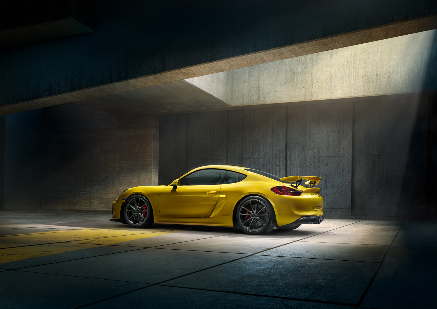 Making Of : Porsche Cayman By Thomas Strogalski