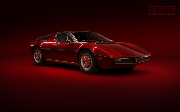 Maserati Bora CGI