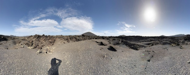 shooting an example HDR Sphere from Lanzarote