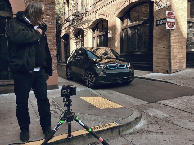 BMW i3S - Recom Farmhouse On Set with Andreas Hempel