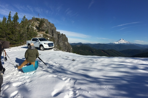 Ford Ranger onset with Recom Farmhouse - snow