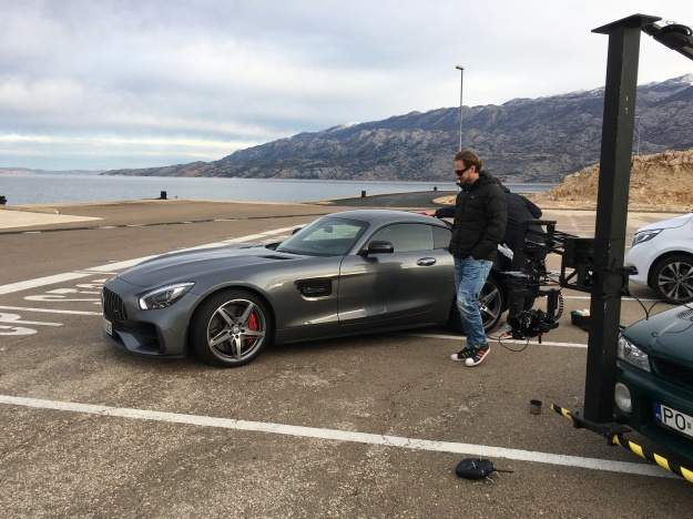 Mercedes with Tomek Olzowski - Video - behind the scenes