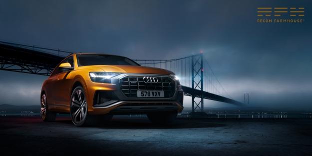 Audi Q8, photographer Ben Stockley, retouching by Recom Farmhouse