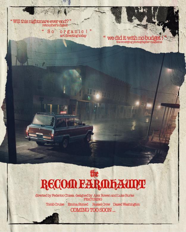 Recom Farmhaunt poster