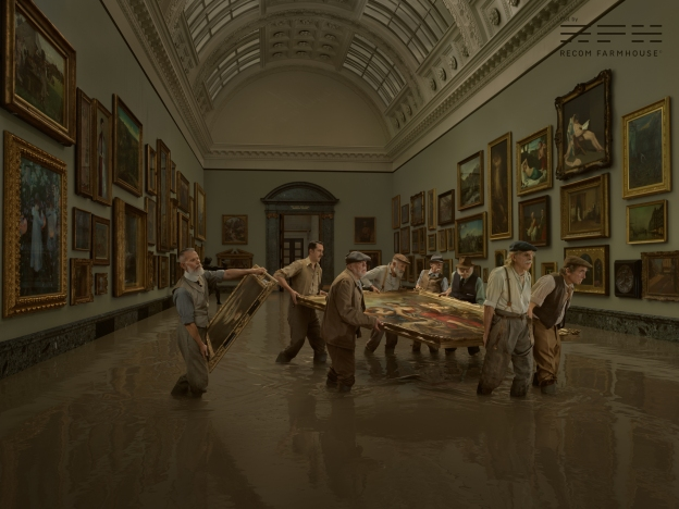 Project: Tate Britain Flood / Julia Fullerton-Batten Photographer: Julia Fullerton-Batten CGI Artist: Kristian Turner Post Artist: Riikka Eiro